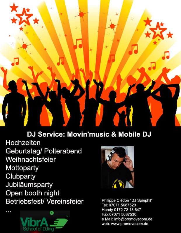 Dj Service Pro Move Com De Dj Amp Animation Service Musik Gestaltung Party Dj In Raum T 252 Bingen